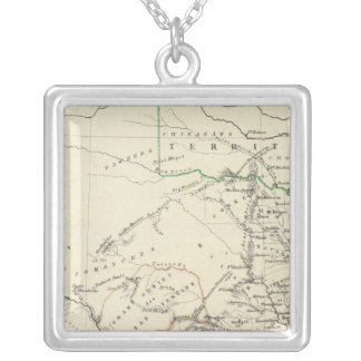 Texas 2 silver plated necklace