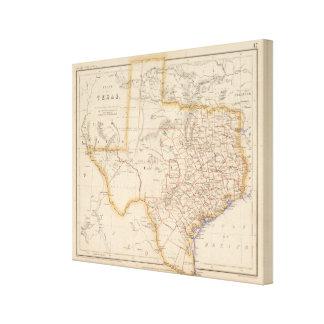 Texas 3 canvas print