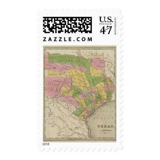 Texas 3 postage stamp