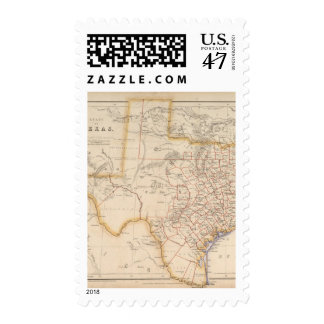 Texas 4 postage stamp