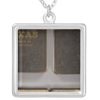 Texas 6 silver plated necklace