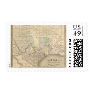 Texas 6 stamp