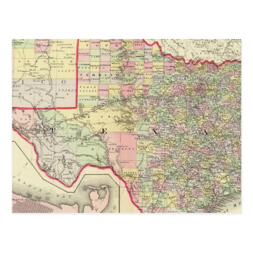 Texas 7 post cards