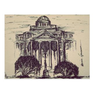 Texas A&M Drawing Postcard