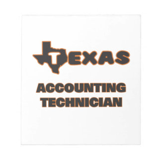 Texas Accounting Technician Note Pads