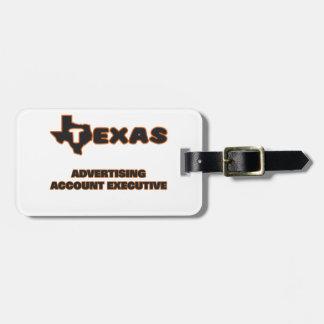 Texas Advertising Account Executive Travel Bag Tag