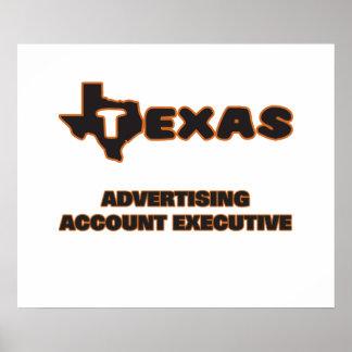 Texas Advertising Account Executive Poster