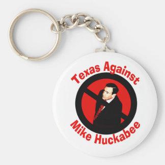 Texas Against Mike Huckabee keychain