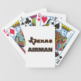 Texas Airman Bicycle Playing Cards