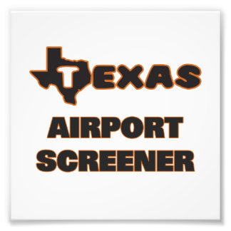 Texas Airport Screener Photo Print