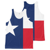 TEXAS All-Over-Print TANK TOP