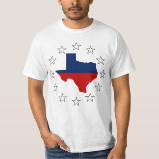 Texas All Red White & Blue (2) T-Shirt