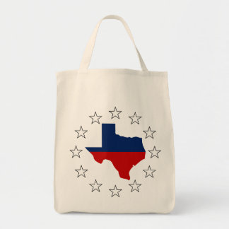 Texas All Red White & Blue (2) Tote Bag