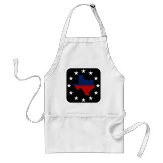 Texas All Red White & Blue Adult Apron