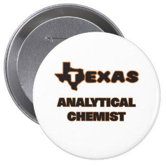 Texas Analytical Chemist 4 Inch Round Button
