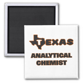 Texas Analytical Chemist 2 Inch Square Magnet