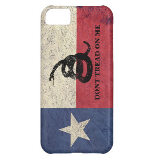 Texas and Gadsden Flag iPhone 5C Covers