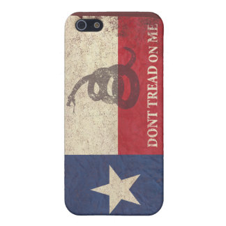 Texas and Gadsden Flag Case For iPhone SE/5/5s