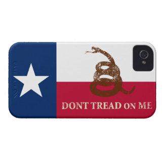 Texas and Gadsden Flag Case-Mate iPhone 4 Case