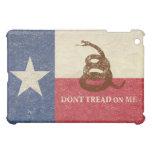 Texas and Gadsden Flag iPad Mini Cover