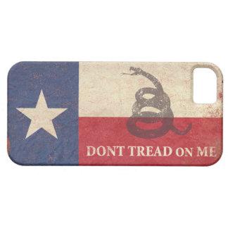 Texas and Gadsden Flag iPhone SE/5/5s Case