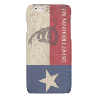 Texas and Gadsden Flag Matte iPhone 6 Case