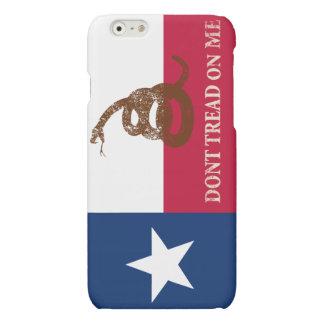 Texas and Gadsden Flag Matte iPhone 6 Case