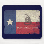 Texas and Gadsden Flag Mouse Pad