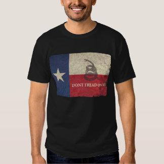 Texas and Gadsden Flag T Shirt