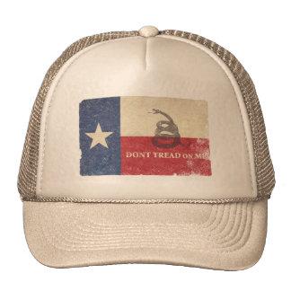 Texas and Gadsden Flag Trucker Hat