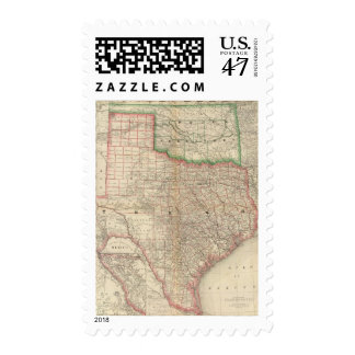 Texas and Indian Territory Postage