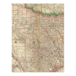 Texas and Indian Territory Postcard