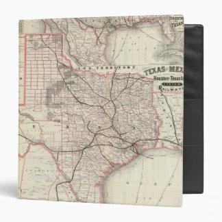 Texas and Mexico, Houston Vinyl Binder