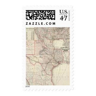 Texas and Mexico, Houston Postage