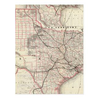 Texas and Mexico, Houston Postcard