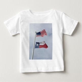 Texas and US Flag Tees