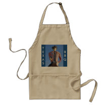 Texas~Any State BBQ Apron