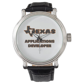 Texas Applications Developer Wrist Watch