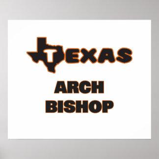Texas Arch Bishop Poster