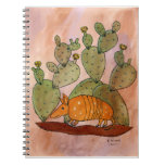 Texas Armadillo Notebook