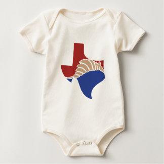 Texas Armadillo - TX State Design Baby Bodysuit