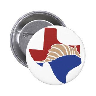 Texas Armadillo - TX State Design Button