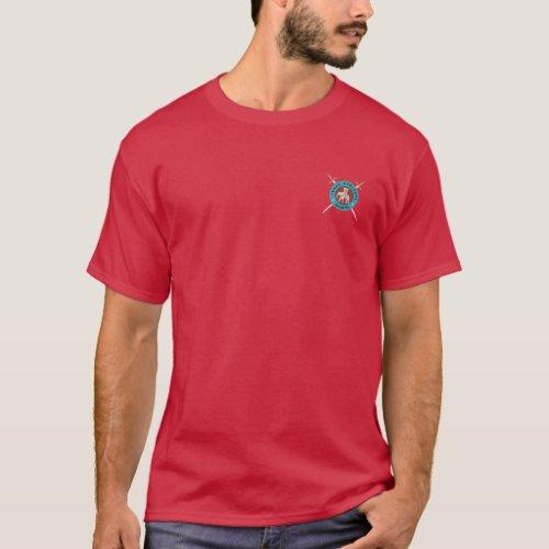Texas Armizare Shirt in Dark Red