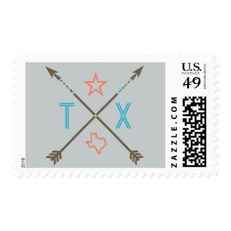 Texas Arrows Southwest Postage Stamp