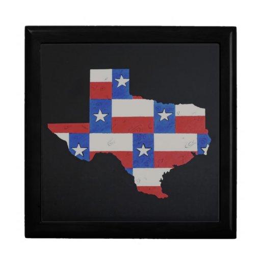 Texas Art Keepsake Box