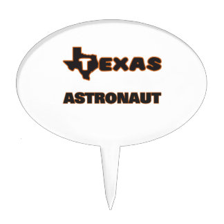 Texas Astronaut Cake Picks