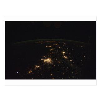 Texas at night.jpg postcard