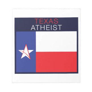 Texas Atheist Notepad