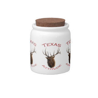 Texas Attitude Candy Dishes