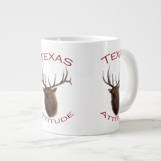 Texas Attitude Large Coffee Mug